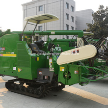 higher ground clearance grain single cylinder rice harvester
